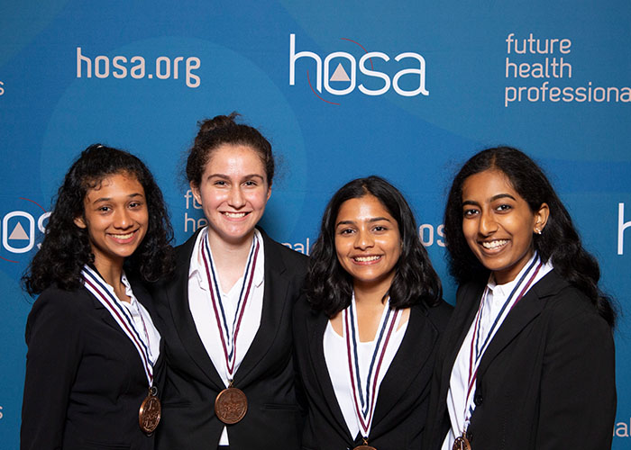 HOSA Students