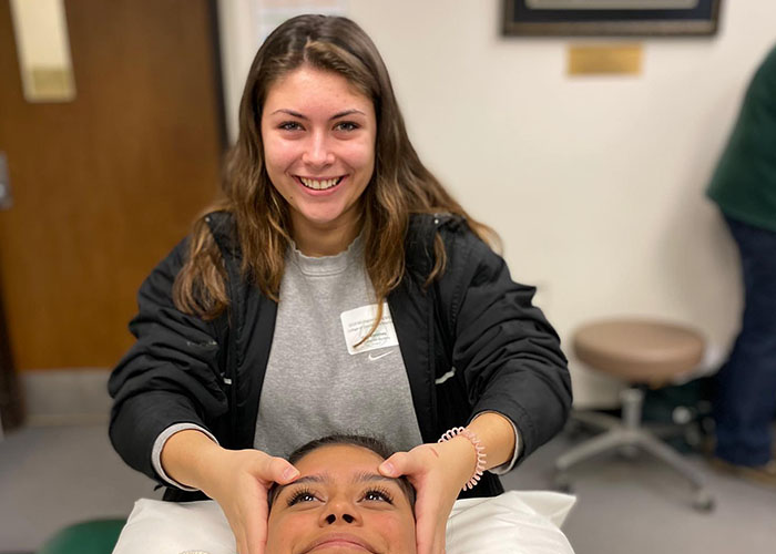 Massage Therapy Student