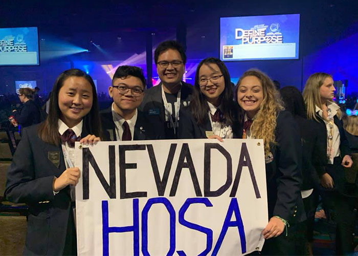 HOSA Students